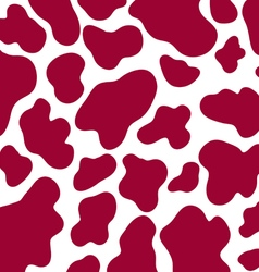 Seamless cow skin pattern vector