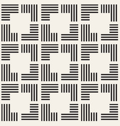 seamless pattern with stripes abstract vector image