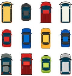 Set of vehicles vector image