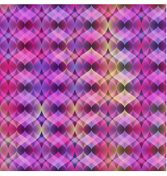 Ultra violet neon seamless pattern vector