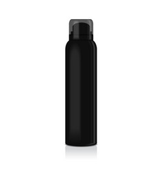 blank deodorant spray for women or men vector image