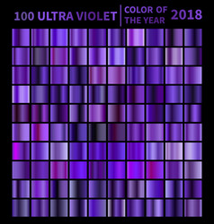 Ultra violet gradients vector