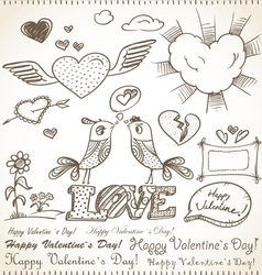 14th February collection vector image