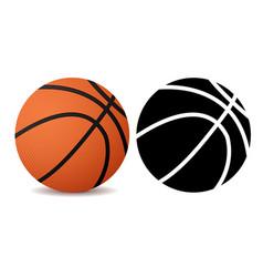 Basketball ball vector
