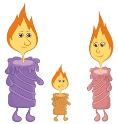 Candle family vector
