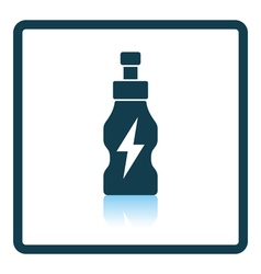 Icon of Energy drinks bottle vector