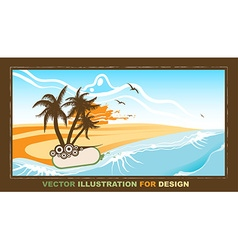 Retro Summer Design vector