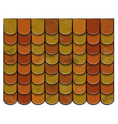 Roof tiles texture beautiful banner wallpaper vector