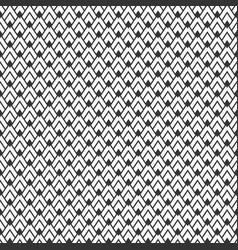 seamless geometry pattern arrowhead pattern vector image