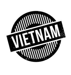 Vietnam rubber stamp vector