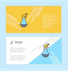 water shower abstract corporate business banner vector image