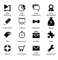 Seo icons vol 2 vector