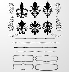 Classical Decorative Design Element vector image vector image