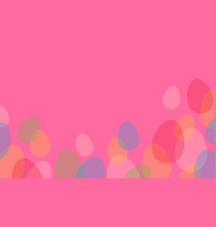 collection of easter greeting card style vector image vector image