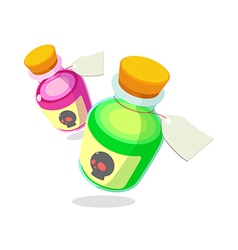 icon bottle vector image vector image
