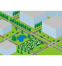 neighbourhood vector image vector image