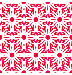 Abstract pink flower dye pattern texture seamless vector