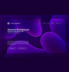 Abstract purple liquid background for your website vector