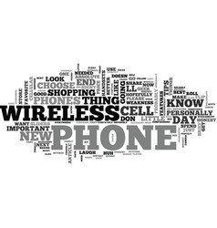 at t wireless phones how to choose the best at t vector image