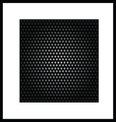 background black texture vector image