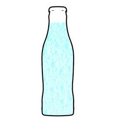 Carbonated water vector