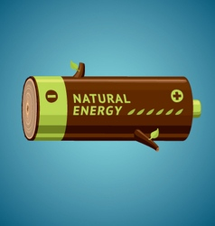 Natural Energy vector image