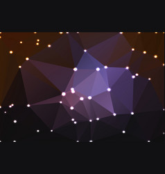 Purple brown black geometric background with vector