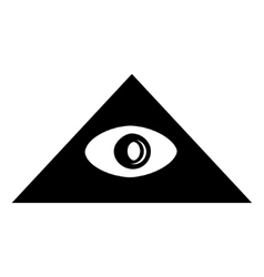 Pyramid Eye vector