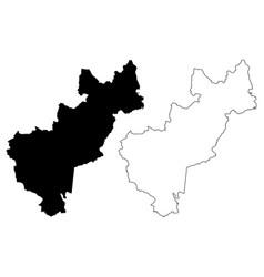 queretaro map vector image