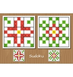 Sudoku hard level set vector