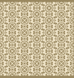 beige plant decorative pattern backdrop vector image vector image