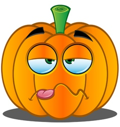 Pumpkin Face 14 vector image vector image