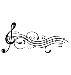 Music song vector image vector image