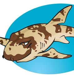 Cartoon Bamboo Shark vector image vector image
