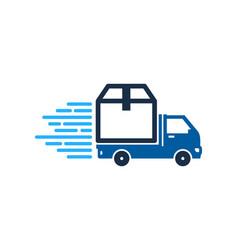 Box delivery logo icon design vector