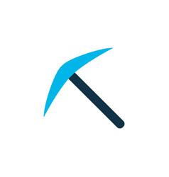 pick icon colored symbol premium quality isolated vector image