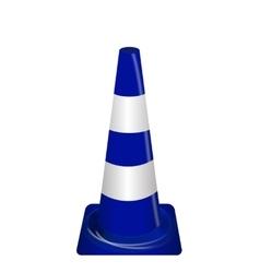 Road signs Blue Badge guardrails vector