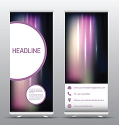 Roll up advertising banners 0507 vector