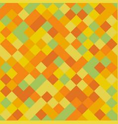 yellow pixel squares pattern vector image