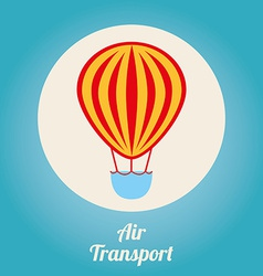 air transport design vector image