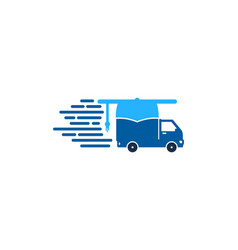 education delivery logo icon design vector image
