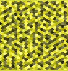 Hexagon pattern seamless honeycomb background vector