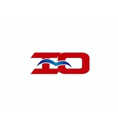 iO company logo vector image
