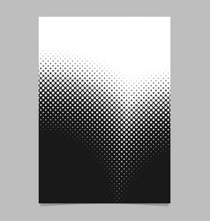 Retro abstract halftone circle pattern flyer vector