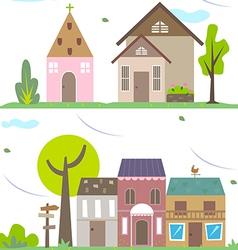Small village vector