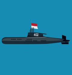 Submarine kri nanggala 402 indonesia military vector