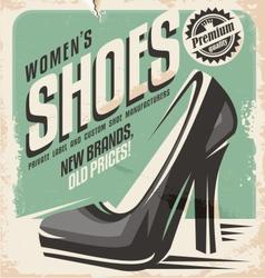 Women shoes vector image vector image