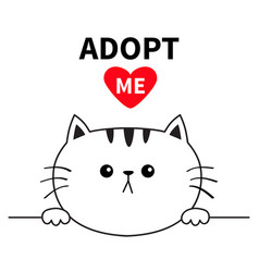 adopt me dont buy cat head face head hands paw vector image