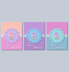 bashower cards vector image