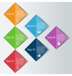 Infographics digital concept vector image